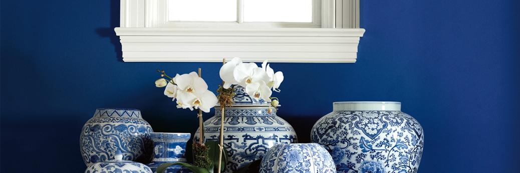 Fanciful blue